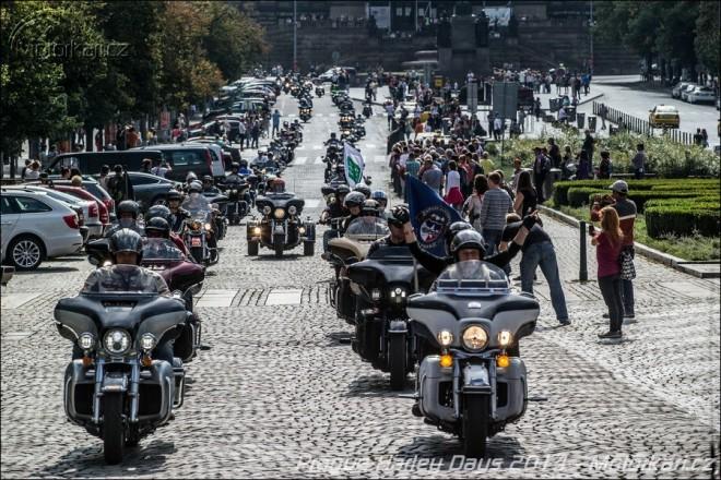 Premiérové Prague Harley Days 2014 stylovì zakonèily léto