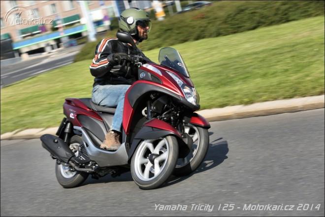 Yamaha Tricity 125 - nejlevn�j�� t��kolka