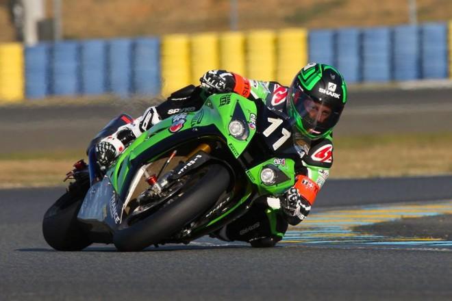 Provizorní pole position má SRC Kawasaki