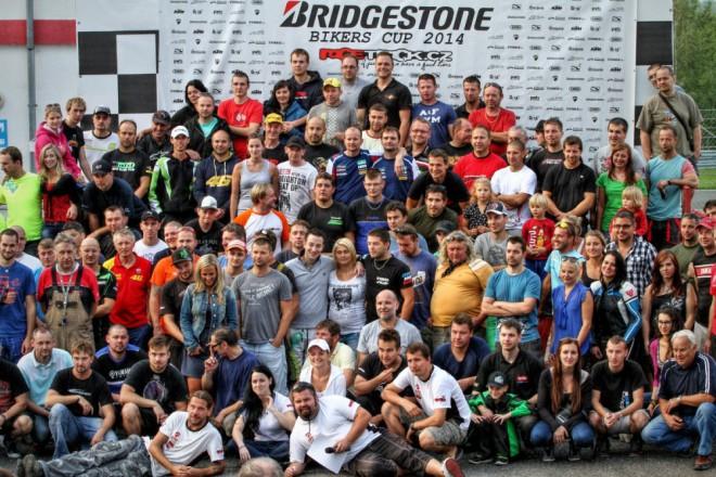 Fin�le Bridgestone Bikers Cupu 2014 v Most�