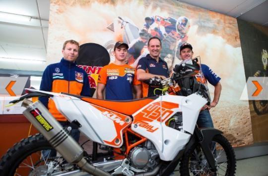 Dakar: KTM angažovala Rakušana Walknera