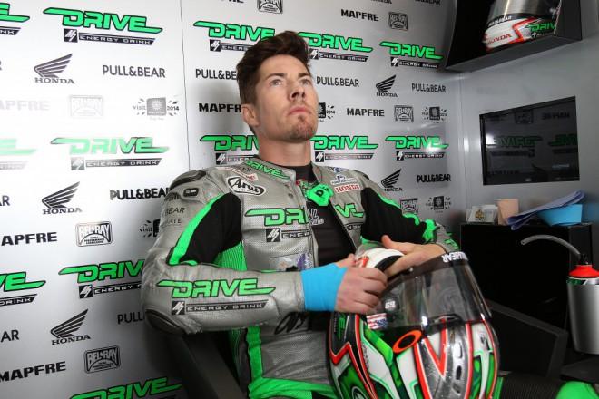 V Aragonii už chce Nicky Hayden závodit