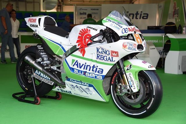 Barberá má v boxech Avintie Racing Ducati