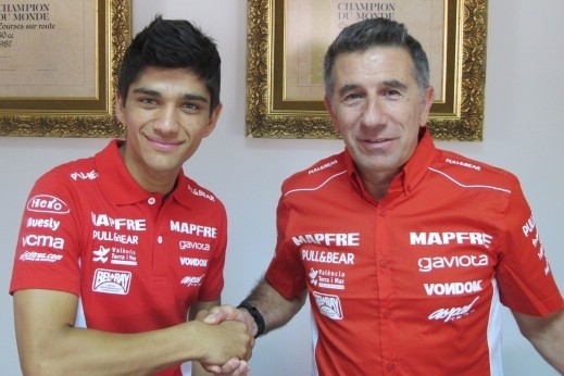 Martin podepsal s týmem Aspar Moto3