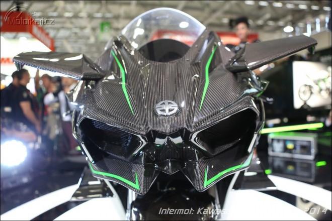 Intermot: Kawasaki Ninja H2R má 300 koní