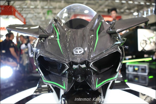 Intermot: Kawasaki Ninja H2R m� 300 kon�