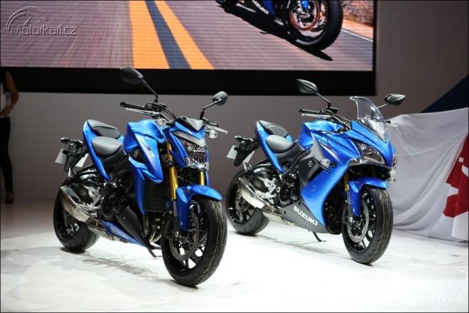 Intermot: nová Suzuki GSX-S1000/F a V-Strom 650XT