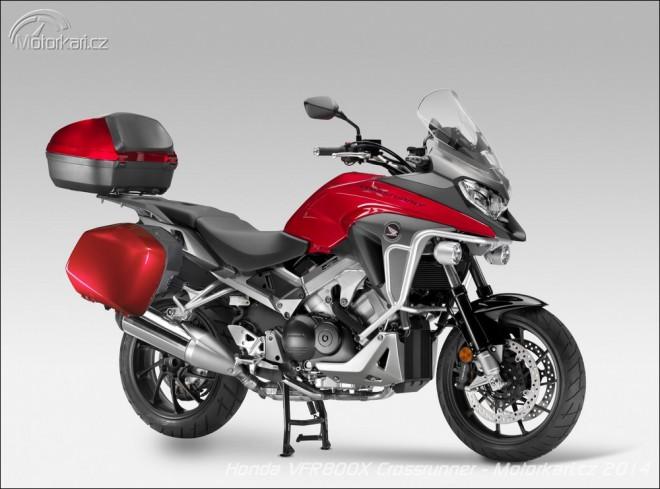 Intermot: Nov� Honda VFR800X Crossrunner
