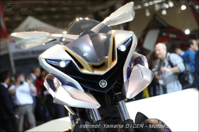 Yamaha vyvíjí tøíkolovou motorku 01GEN