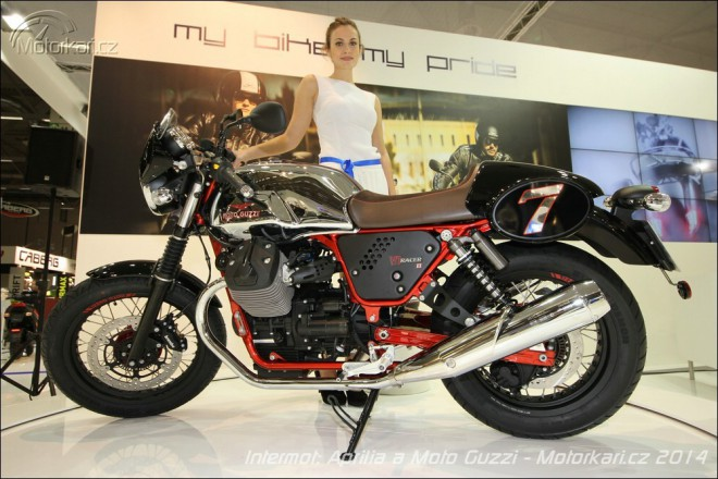 Intemot: Aprilia Caponord 1200 Rally, Moto Guzzi V7 II