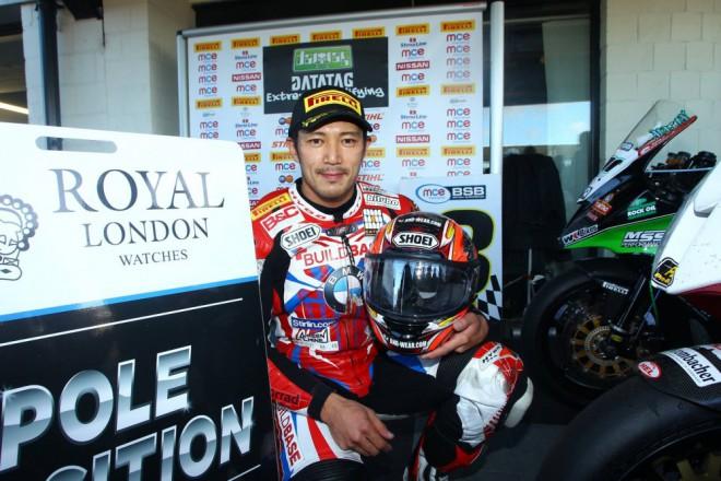 Pole position v Silverstonu vyhrál Kiyonari