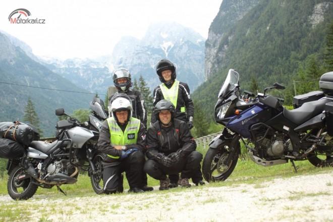 Prvn� cesta na motorce k Jadranu