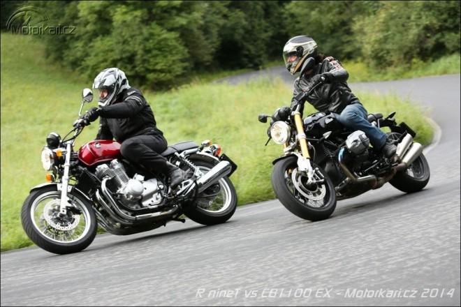 Honda CB1100 EX vs BMW R nineT - tradice �i moderna?