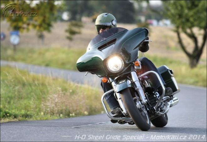 Harley-Davidson Street Glide Special - cestování první tøídou