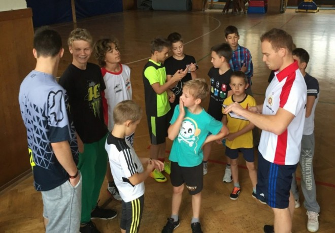 První trénink SCM v pøípravì na sezónu 2015