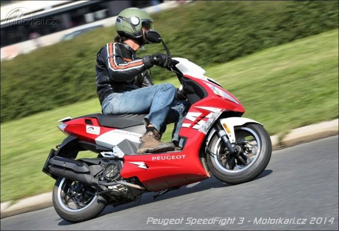 Peugeot SpeedFight 3 - bojov� tanec na �ty�i doby