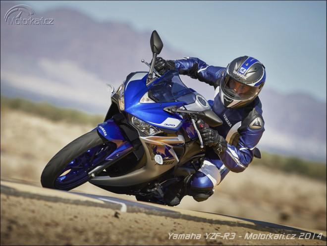Yamaha p�edstavila novou YZF-R3 a WR250F