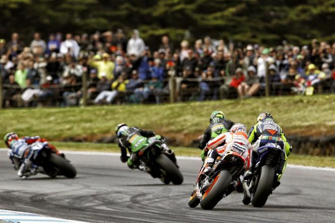 FIM: Provizorní startovní listina MotoGP 2015