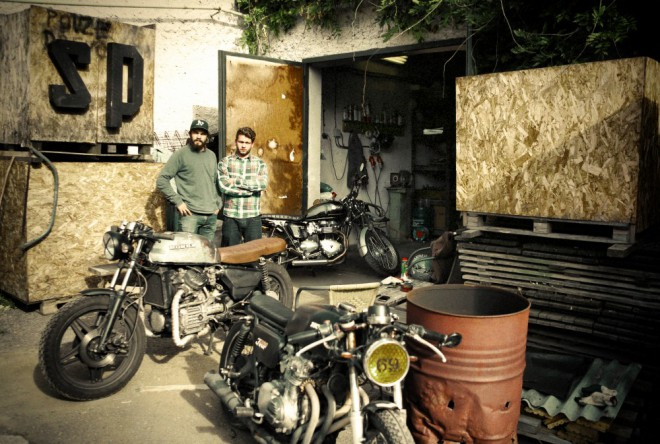 Spark Plug Motorcycles: do Davle na café