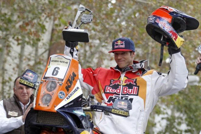Speciální KTM na poèest Kurta Caselliho