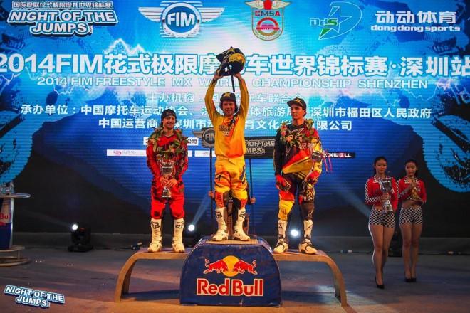Libor Podmol vyhrál první závod v Èínì