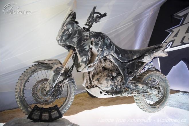 Honda pøedstavila prototyp True Adventure