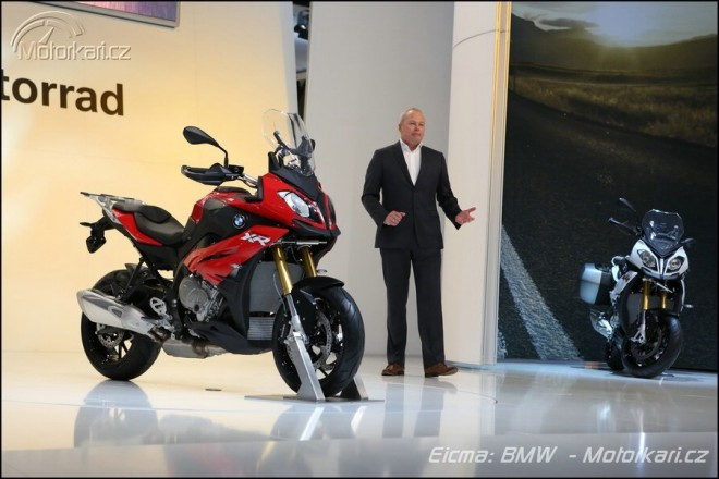 Nov� BMW S 1000 XR a F 800 R