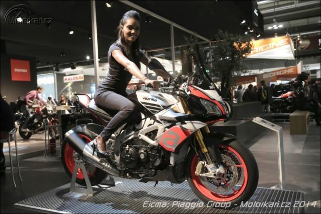 Nová Aprilia Tuono, Moto Guzzi Eldorado a prototyp MGX-21