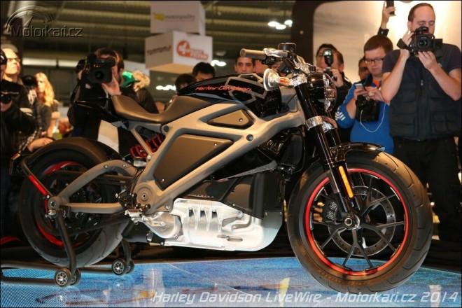 Harley Davidson LiveWire poprvé v Evropì