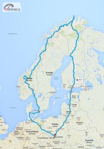 Nordkapp aneb cesta za polární kruh