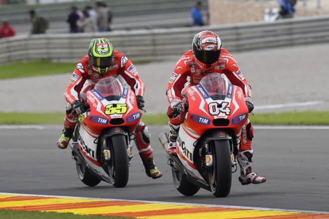 Poslední závod sezony byl u Ducati napínavý
