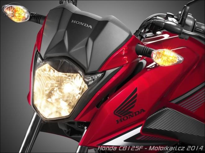 Další novinka 2015: Honda CB125F
