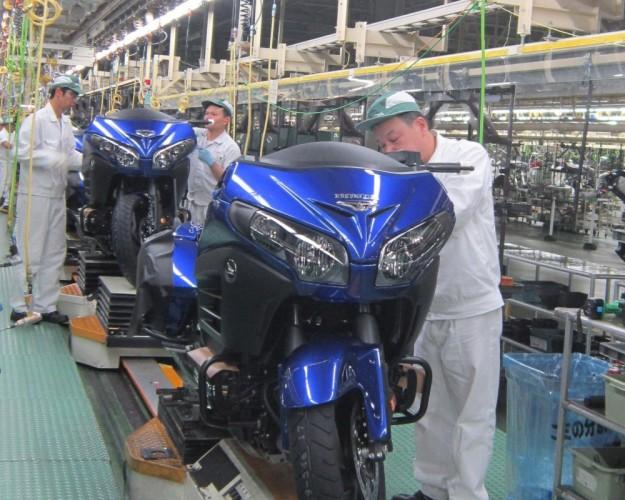 Honda vyrobila u� 300 milion� motorek!