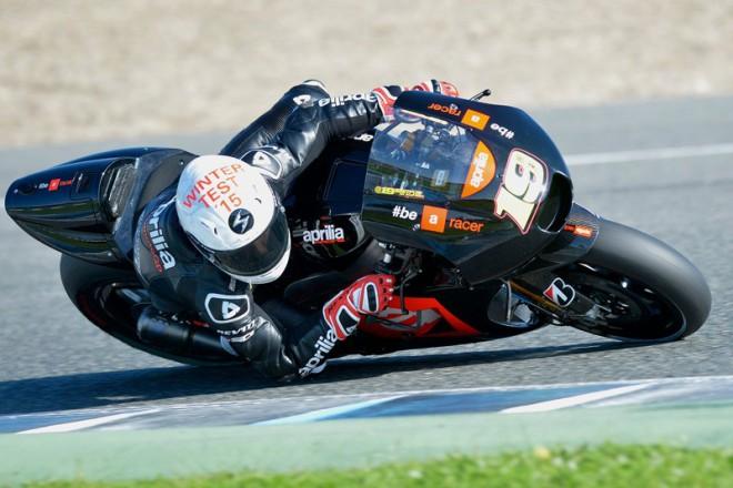 V Jerezu testovala Aprilia poprvé s novým motorem