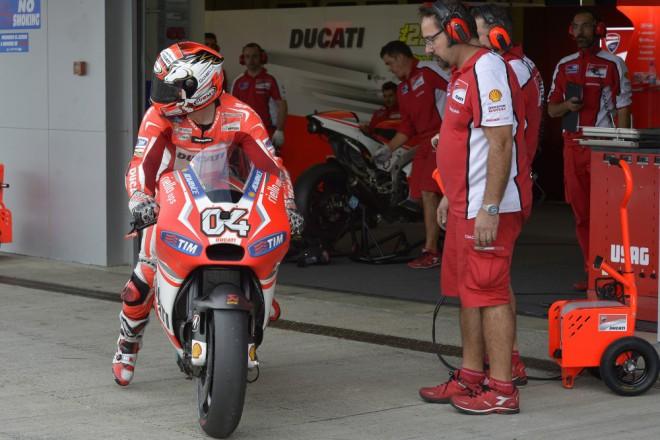 Od poloviny roku je motorka výraznì lepší, øíká spokojený Dovizioso