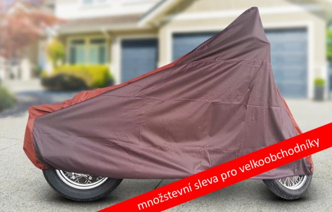Plachta na moto - domov pro váš stroj