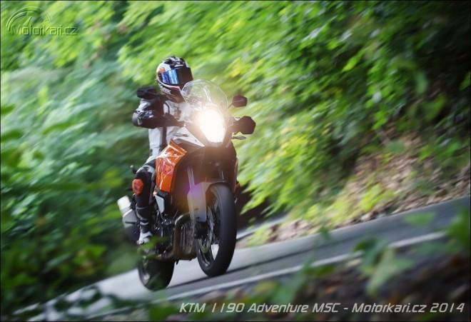 KTM 1190 Adventure MSC - patron bezpeènosti