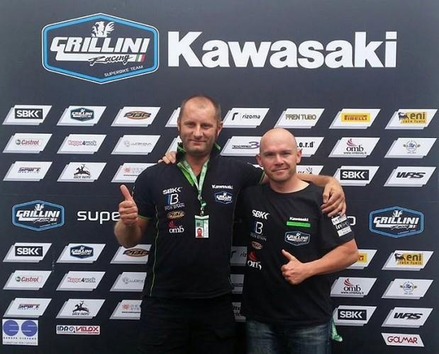 Sheridan Morais skonèil u Grillini Racing