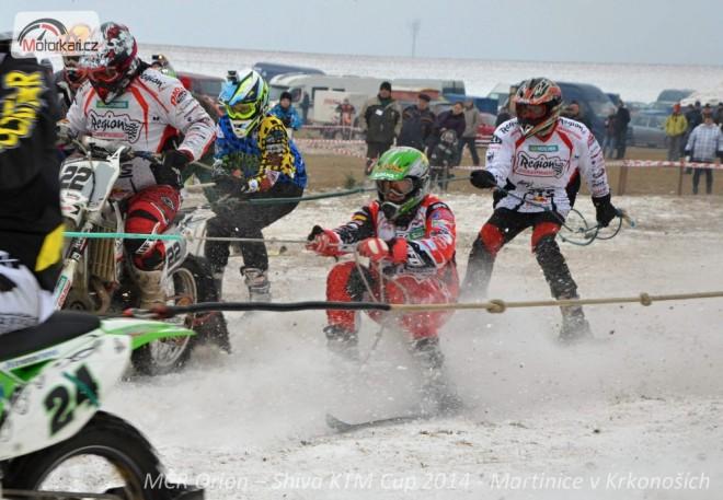 Mistrovství ÈR 2015 v motoskijöringu