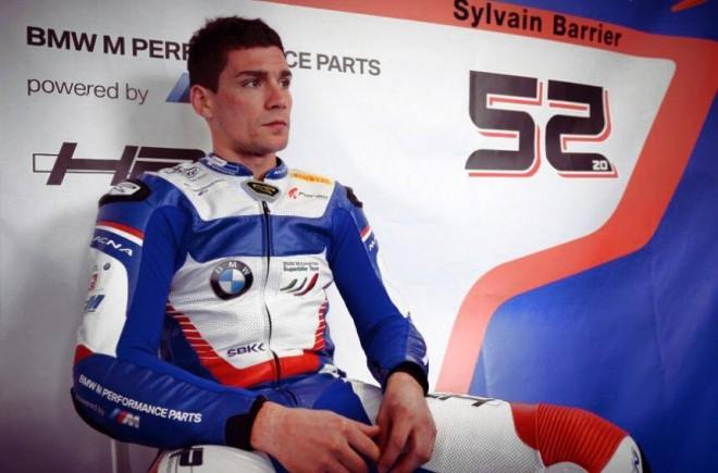 Francouz Barrier pokra�uje s BMW Motorrad Italia