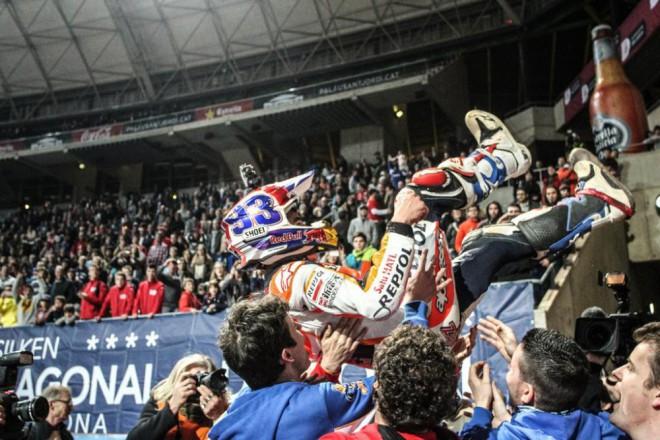 Superprestigio DTX 2014 vyhrál Márquez