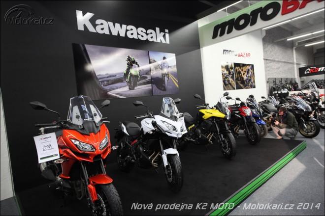 K2 Moto otevøelo novou prodejnu v Praze