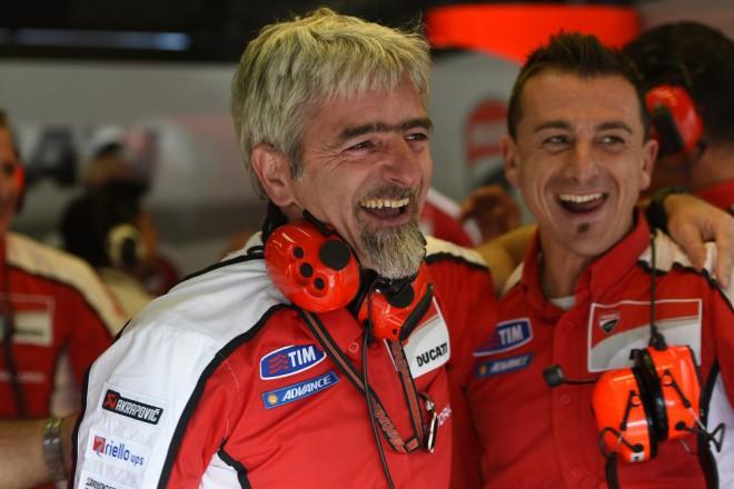 S pokrokem Ducati je Dall'Igna spokojen
