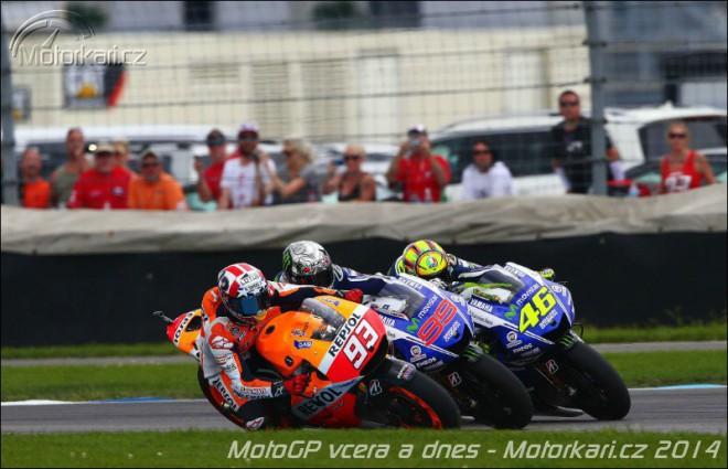 Moto GP vèera a dnes - 3