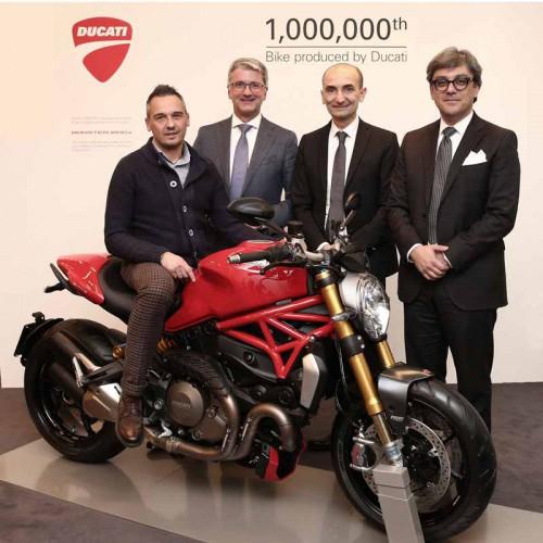 Ducati vyrobila již milion motocyklù