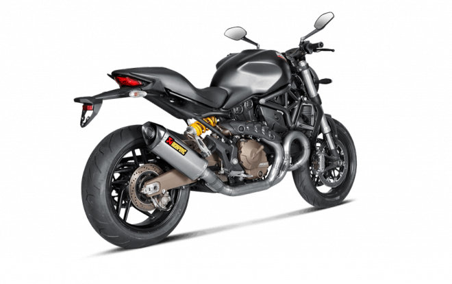 Nové Akrapovièe pro Ducati Monster a Hypermotard