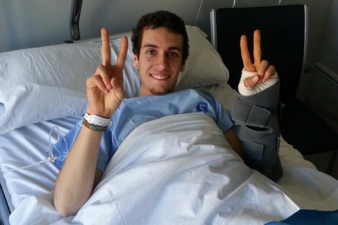 Alex Rins podstoupil úspìšnou operaci