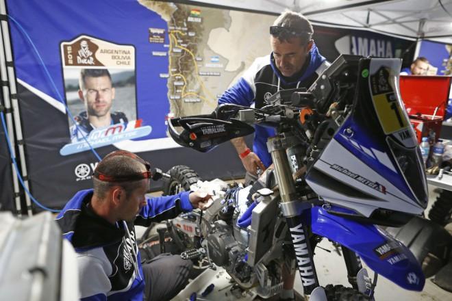 Yamaha po páté etapì Rally Dakar
