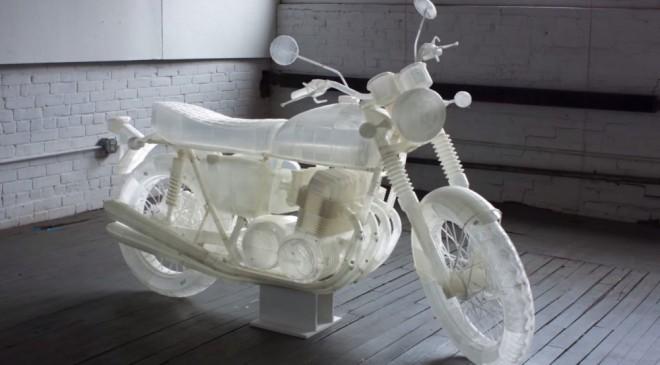 Vytisknìte si motorku snù z 3D tiskárny
