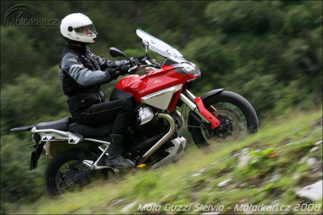 Z druhé ruky: Moto Guzzi Stelvio 1200